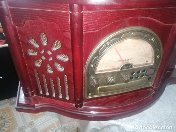 Radios antiguas: Radio Cassette/CD/Tocadisco/ Pro basic 1934 model no: CL102 - Foto 2 - 220699982