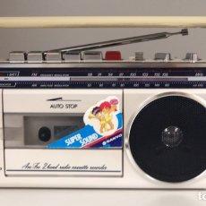 Radios antiguas: RADIO CASSETTE SANYO M 1760F, VER VÍDEO.. Lote 221138688
