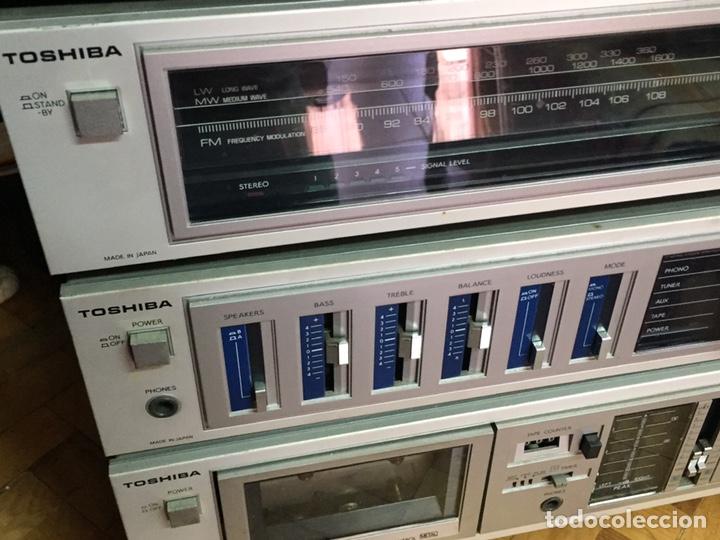 Radios antiguas: Minicadena TOSHIBA - Foto 3 - 221359321