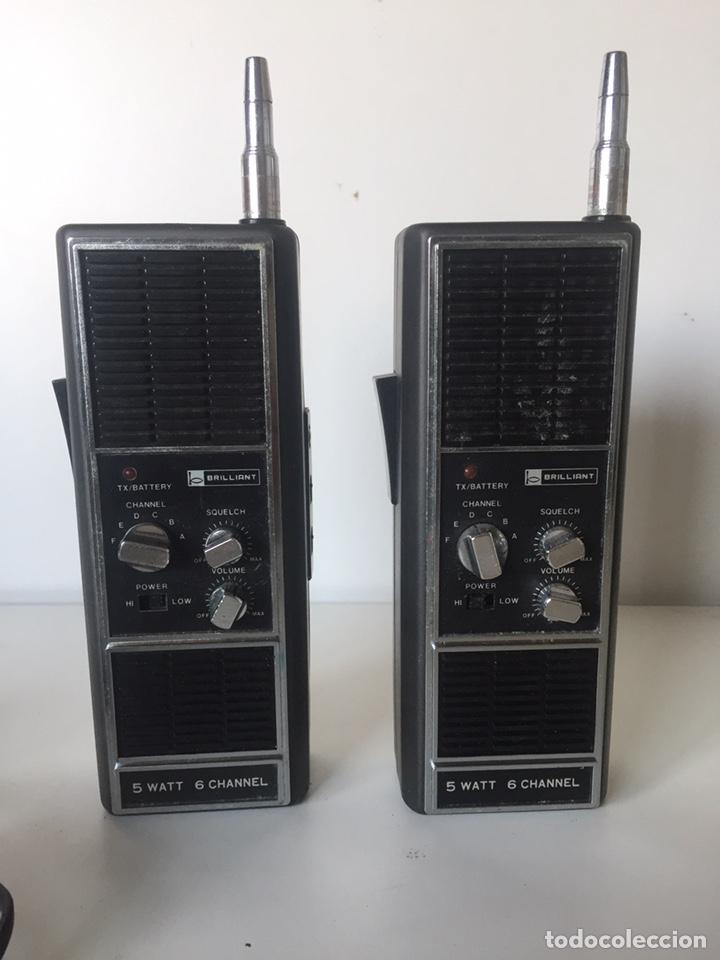 DOS EMISORAS DE RADIO ANTIGUA FUNCIONAN (Radios, Gramófonos, Grabadoras y Otros - Transistores, Pick-ups y Otros)