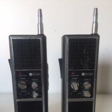 Radios antiguas: DOS EMISORAS DE RADIO ANTIGUA FUNCIONAN. Lote 221496542