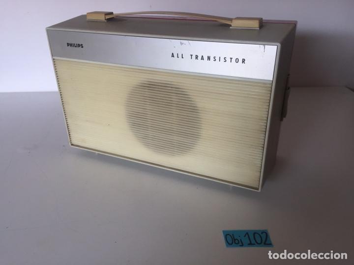 Radios antiguas: TOCADISCOS PHILIPS AG 4100 FUNCIONANDO CORRECTAMENTE - Foto 2 - 221504915
