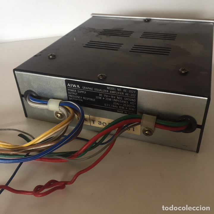 Radios antiguas: AIWA MODEL AE 202 Y - EQUALIZZATORE GRAFICO - CAR AUDIO - Foto 2 - 221505166