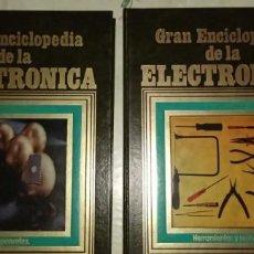 Radios antiguas: GRAN ENCICLOPEDIA DE LA ELECTRÓNICA 2 TOMOS 1984 NUEVOS. Lote 221582292