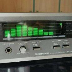Radios antiguas: PIONEER ECUALIZADOR VINTAGE SG 750 ECUALIZADOR GRAFICO ANALIZADOR SPECTRO. Lote 221609516