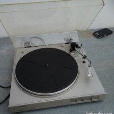 Radios antiguas: TOCADISCOS ANTIGUO MARCA NEC BELT DRIVE TURNTABLE N335 12 CMS. DE ALTO X 37 DE ANCHO X 36 DE FONDO. Lote 221650550