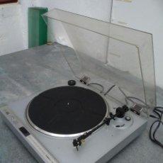 Radios antiguas: TOCADISCOS ANTIGUO MARCA LENCO L990CDQ 13 CMS. DE ALTO X 40 DE ANCHO X 37 DE FONDO. Lote 221651703