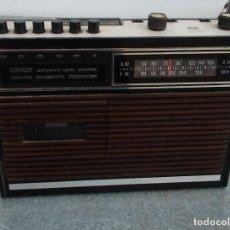 Radios antiguas: RADIO ANTIGUA ORION MODELO CAFNM CON CASSETTE. Lote 221653946