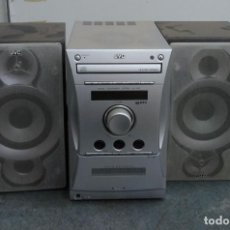 Radios antiguas: MINI CADENA ANTIGUA DE JVC CD + CASETTE. Lote 221667862