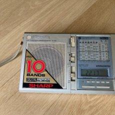 Radios antiguas: RADIO SHARP DUAL CONVERSION-SUPERHETERODYNE FV-610. Lote 221730078