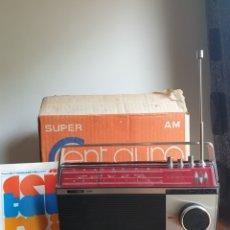 Radios antiguas: RADIO VANGUARD SUPER CENTAURO. A ESTRENAR, DE TIENDA. AÑOS 70. FUNCIONANDO. PIEZÓN!!. Lote 221760262
