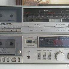 Radios antiguas: 2 PLETINAS CASSETTE HI FI TECHNICS RS-215 Y TECHNICS RS-B10 PLATA VINTAGE RETRO SONIDO AÑOS 80 DECK. Lote 221769891