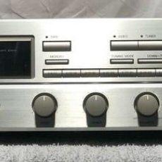 Radios antiguas: RECEPTOR AMPLIFICADOR DENON DRA 335R FM/AM STEREO PLATA 1990. Lote 221832478