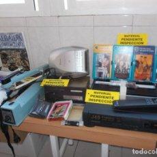 Rádios antigos: ENVIO 10€ GRAN LOTE: VIDEO RADIO RELOJ CD BASE PARA MOVILES REPRODUCTOR 8 TRACK BASE DE SELLADO ETC. Lote 221863350