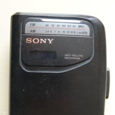 Radios antiguas: WALKMAN SONY WM-FX101 RADIO CASSETTE PLAYER ANTI ROLLING. Lote 222013913