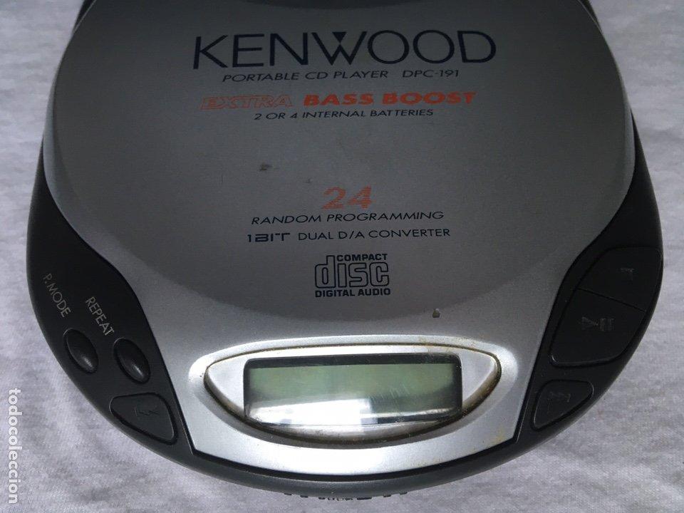 Radios antiguas: CD PORTATIL KENWOOD - Foto 2 - 222066773