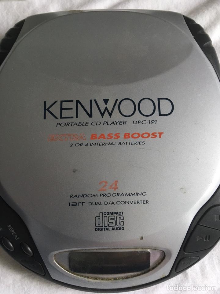 CD PORTATIL KENWOOD (Radios, Gramófonos, Grabadoras y Otros - Transistores, Pick-ups y Otros)