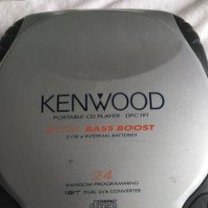 Radios antiguas: CD PORTATIL KENWOOD. Lote 222066773