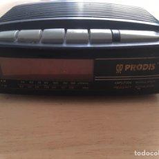 Radios antiguas: RADIO DESPERTADOR -ALARMA ,A PILAS Y A CORRIENTE ELÉCTRICA. Lote 222137936