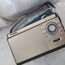 Radios antiguas: RADIO TRANSISTOR INTER SLIM MODUL 130. Lote 222302005