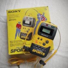 Radios antiguas: RADIO SONY SRF-M70 FM/AM WALKMAN SPORT - CON SU CAJA - MUY POCO USADA. Lote 222333502
