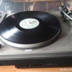 Radios antiguas: TOCADISCOS OCNOSON CT 1800 AUTOMATIC RETURN PEPETO ELECTRONICA VER VIDEO. Lote 222335191
