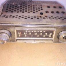 Radios antiguas: AUTORADIO RADIO MARCONI DE VALVULAS LICENCIA AUTOVOX AÑOS 60. Lote 222353358