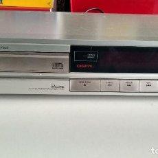 Radios antiguas: REPRODUCTO CD TECHNICS SL-P230 VINTAGE FUNCIONANDO PLATEADO FABRICADO EN JAPÓN. Lote 222440712