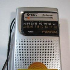 Radios antiguas: RADIO TRANSISTOR ORBIT CADENCE FUNCIONANDO. Lote 222516071