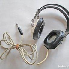 Radios antiguas: AURICULARES SANSUI TIPO PILOTO DE AVIACIÓN VINTAGE EN EXCELENTES CONDICIONES Y FUNCIONANDO. Lote 222829740