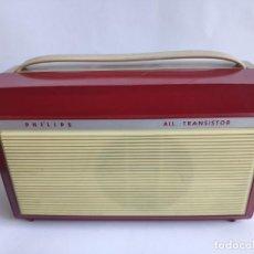 Radios antiguas: TOCADISCOS - PICK-UP - PHILIPS ALL TRANSISTOR. Lote 222837421