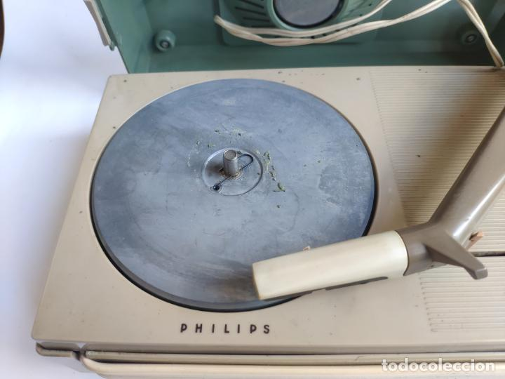 Radios antiguas: Tocadiscos - Pick-up - PHILIPS ALL TRANSISTOR - Foto 10 - 222837755
