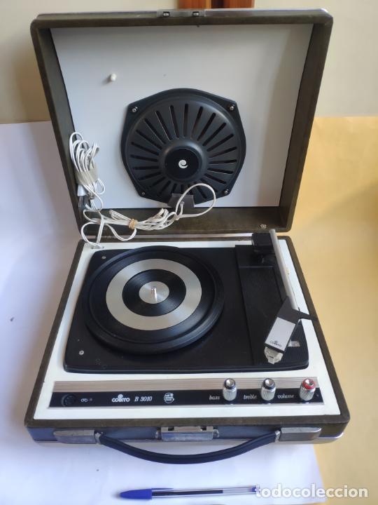 TOCADISCOS - PICK-UP - COSMO B - 3010 (Radios, Gramófonos, Grabadoras y Otros - Transistores, Pick-ups y Otros)