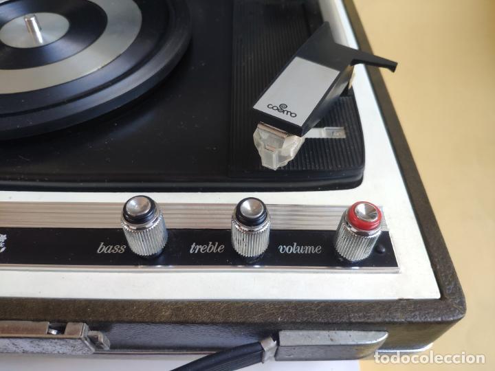 Radios antiguas: Tocadiscos - Pick-up - COSMO B - 3010 - Foto 5 - 222838887