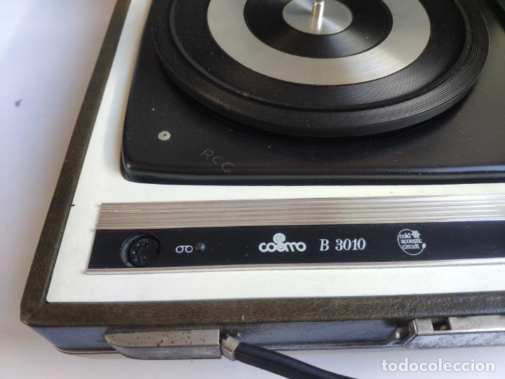 Radios antiguas: Tocadiscos - Pick-up - COSMO B - 3010 - Foto 7 - 222838887