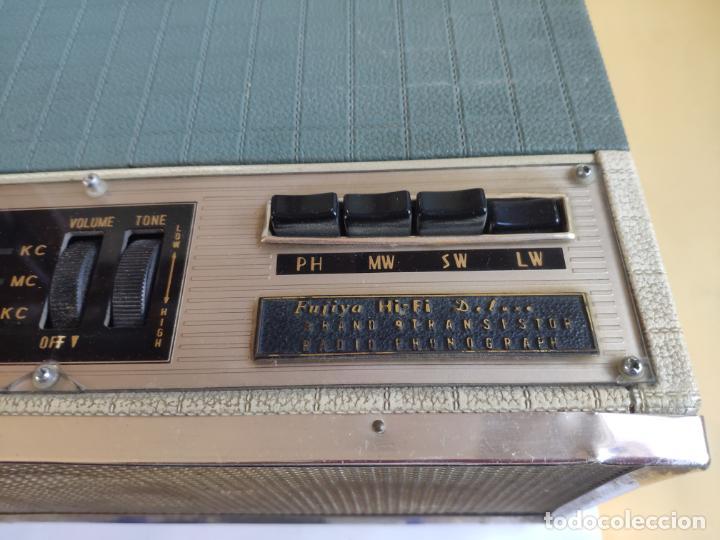 Radios antiguas: Tocadiscos / Radio - Pick-up - FUJIYA HI-FI DE LUXE - Foto 4 - 222840896