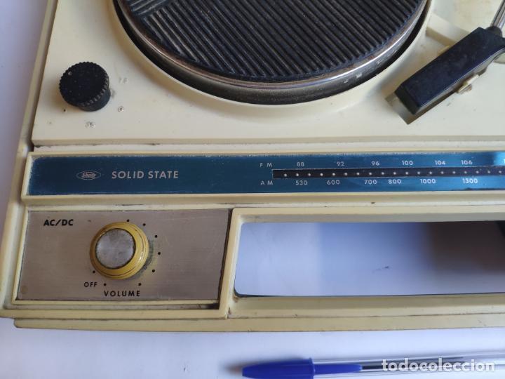 Radios antiguas: Tocadiscos - Pick-up - SHARP - Solid State - Foto 5 - 222841381