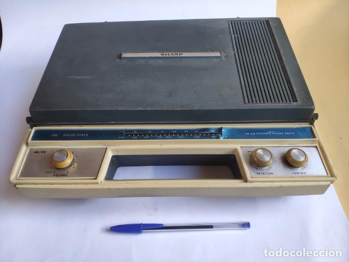 Radios antiguas: Tocadiscos - Pick-up - SHARP - Solid State - Foto 2 - 222841381
