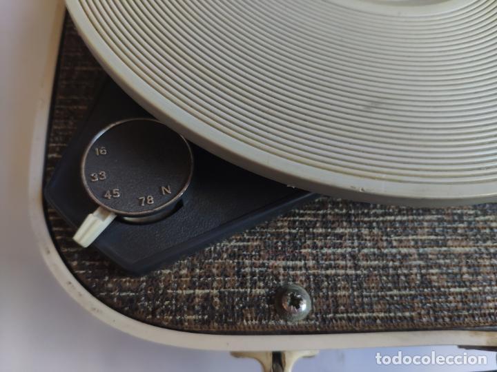 Radios antiguas: Tocadiscos - Pick-up - Made in Nueva Zelanda - Foto 5 - 222841485