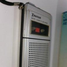 Radios antiguas: EMERSON MICRO CASSETTE RECORDER CTM22. Lote 222947478