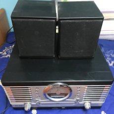 Rádios antigos: TOCADISCOS DE 6 EN 1 ELBE - REPRODUCTOR DE GIRADISCOS ,RADIO ,FM , REPRODUCT CD, CASET ETC.... Lote 223325918