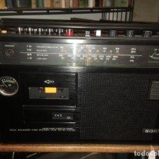 Radios antiguas: DIFICIL.RADIO CASSETTE SONY CF 470 L VOCAL ENHANCER,4 BANDAS, LUZ EN EL DIAL,FUNCIONANDO AÑO 1979.. Lote 223402551
