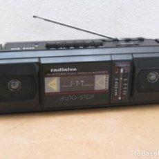 Radios antiguas: RADIO CASSETTE RADIALVA RKS 6530. Lote 223684243