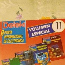 Radios antiguas: DELEK VOLUMEN ESPECIAL 11 CON REVISTAS AGOTADAS. Lote 223774932