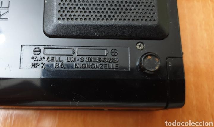 Radios antiguas: VINTAGE SANYO WALKMAN RADIO CASSETTE RECORDER M 1800F TIPO LADRILLO RARO Y UNICO!! - Foto 5 - 223963063