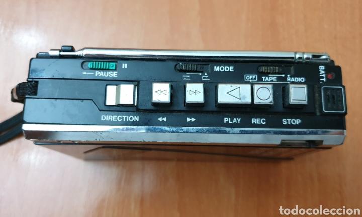 Radios antiguas: VINTAGE SANYO WALKMAN RADIO CASSETTE RECORDER M 1800F TIPO LADRILLO RARO Y UNICO!! - Foto 9 - 223963063