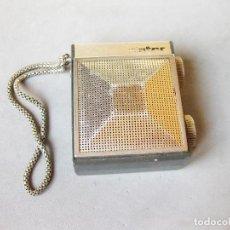 Radios antiguas: RADIO TRANSISTOR INTER ELECTRÓNICA SLIMTRANSCOLOR. Lote 224124056