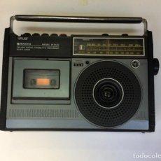 Radios antiguas: RADIO-CASSTTE SANYO PORTÁTIL MODEL M2422. Lote 224314763
