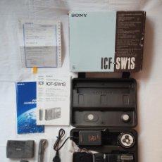 Radios antiguas: SONY ICF-SW1S RADIO MULTIBANDA KIT COMPLETO AM FM SW LW MW - USADA EN UN PAR DE OCASIONES - SW1. Lote 224318793