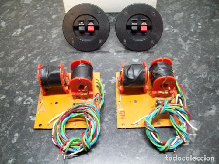CONECTORES Y FILTROS 2 VÍAS PARA CAJAS ACÚSTICAS / ALTAVOCES / BAFLES. (Radios, Gramófonos, Grabadoras y Otros - Transistores, Pick-ups y Otros)